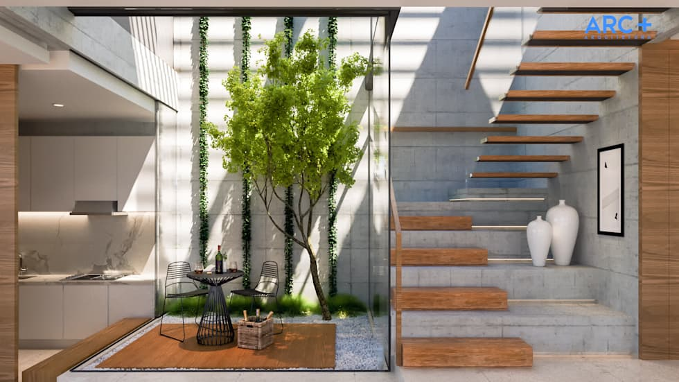 Fotos de decora o design de interiores e reformas homify - Abbattimento muro interno senza dia ...
