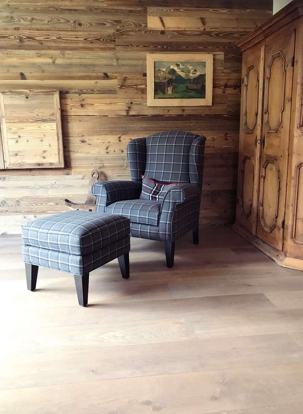 Kompletter Umbau Und Inneneinrichtung : Landhausstil Arbeitszimmer Von  Edelwiis Holzmöbel