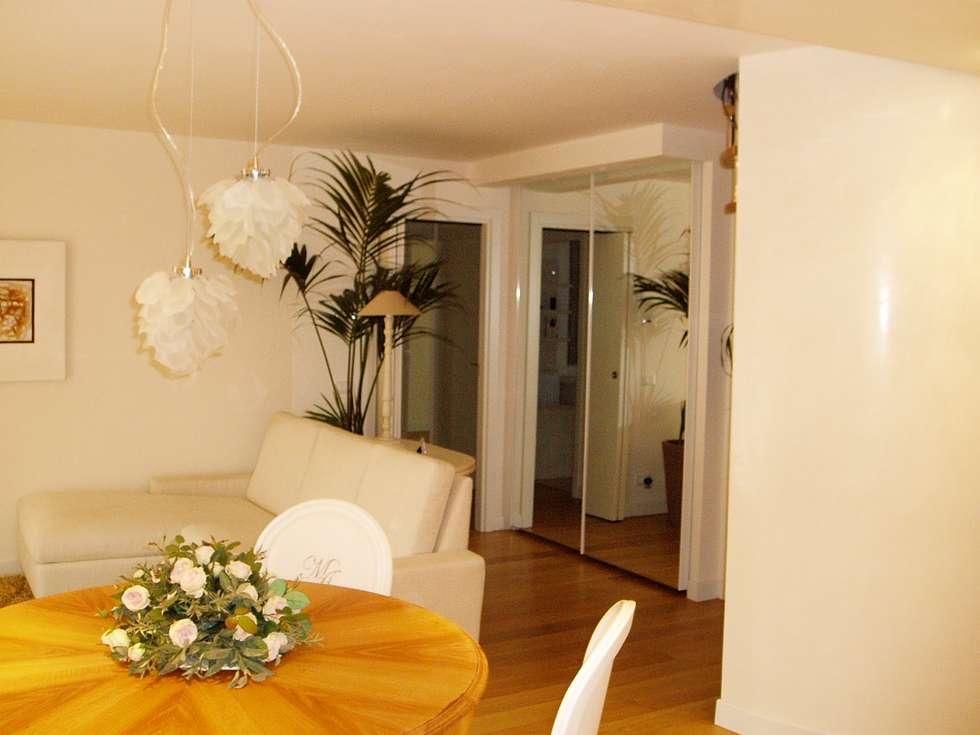 Idee arredamento casa interior design homify for Specchio salotto