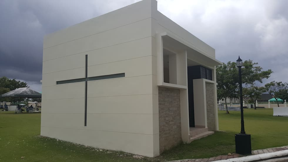 Family Mausoleum: minimalistic Conservatory by Archcentric Design & Development