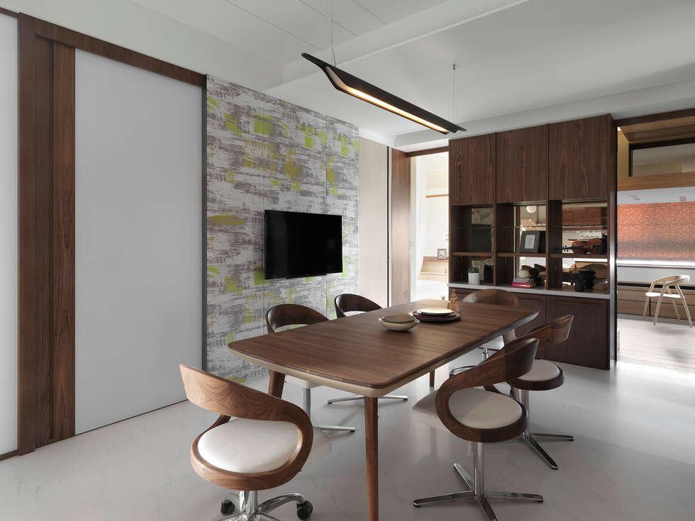 H之所在:  餐廳 by 禾築國際設計Herzu  Interior Design