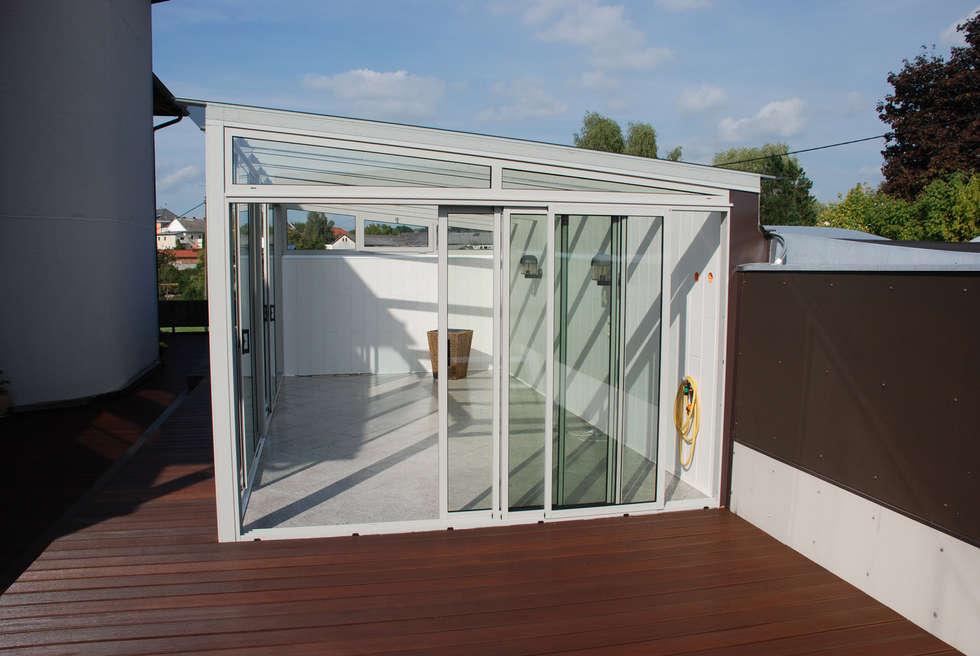 Wintergarten Auf Dachterrasse wohnideen interior design einrichtungsideen bilder homify
