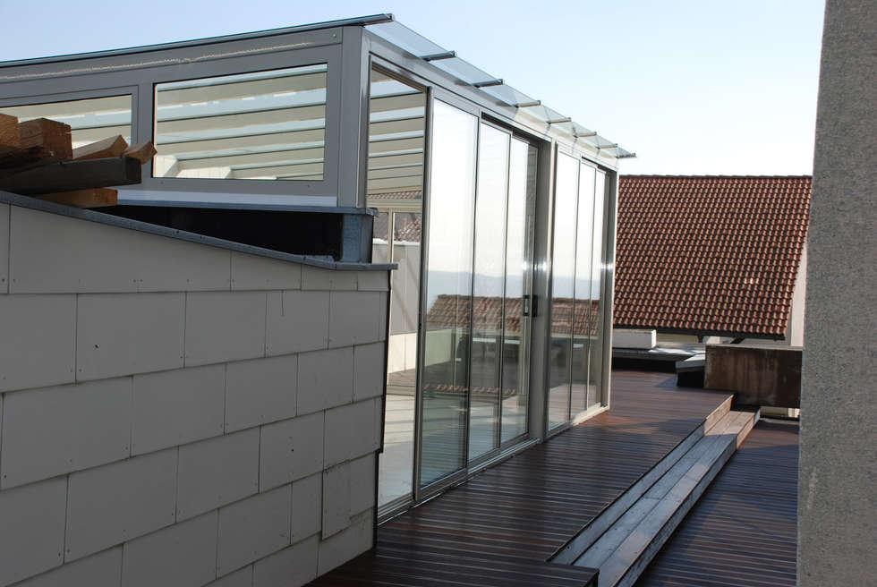 Wintergarten Auf Dem Dach wohnideen interior design einrichtungsideen bilder homify
