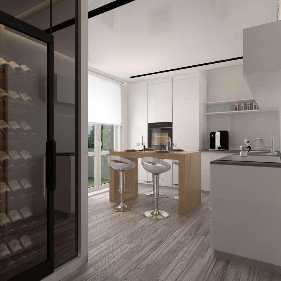 Idee arredamento casa interior design homify - Silvana in cucina ...