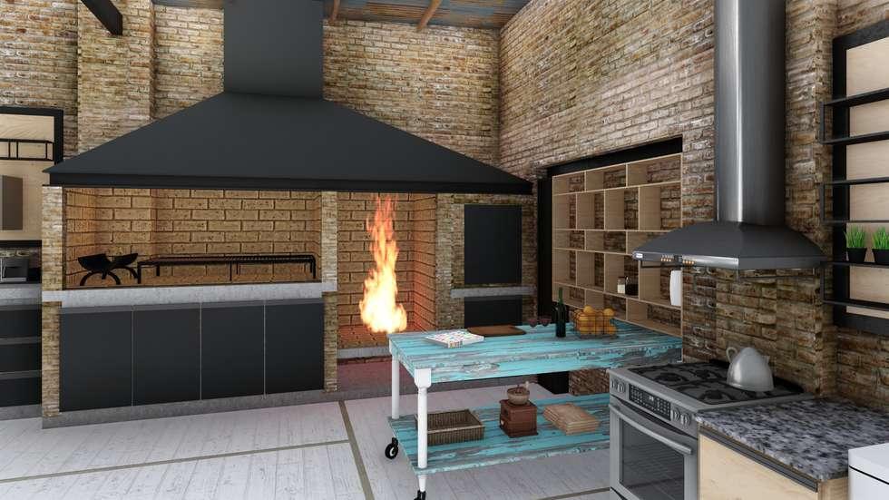 Im genes de decoraci n y dise o de interiores homify for Cocinas industriales surge
