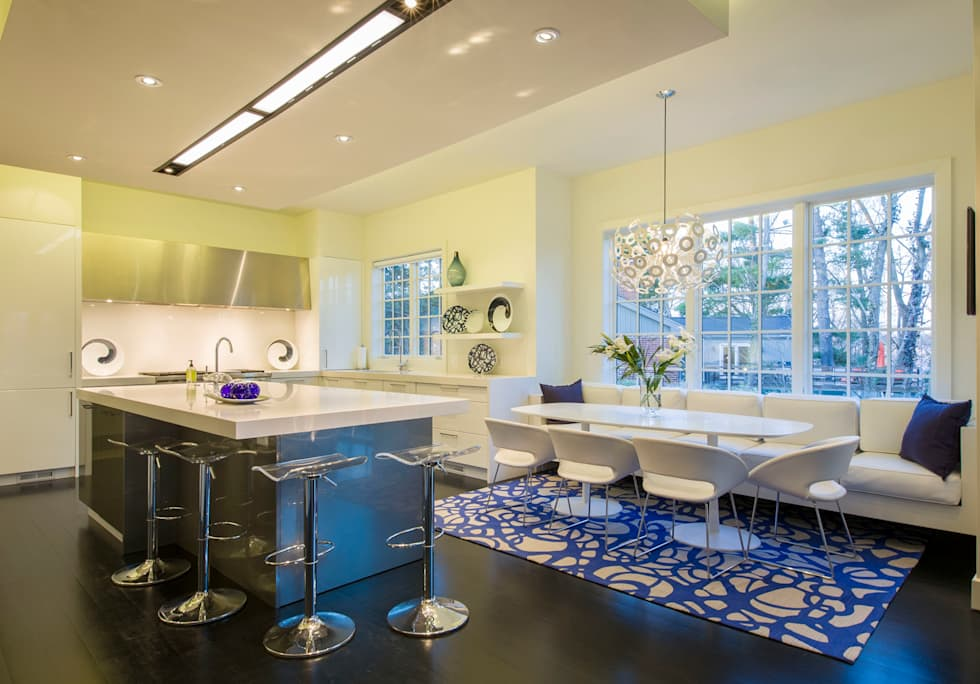 Craftsman Modern: modern Dining room by FORMA Design Inc.
