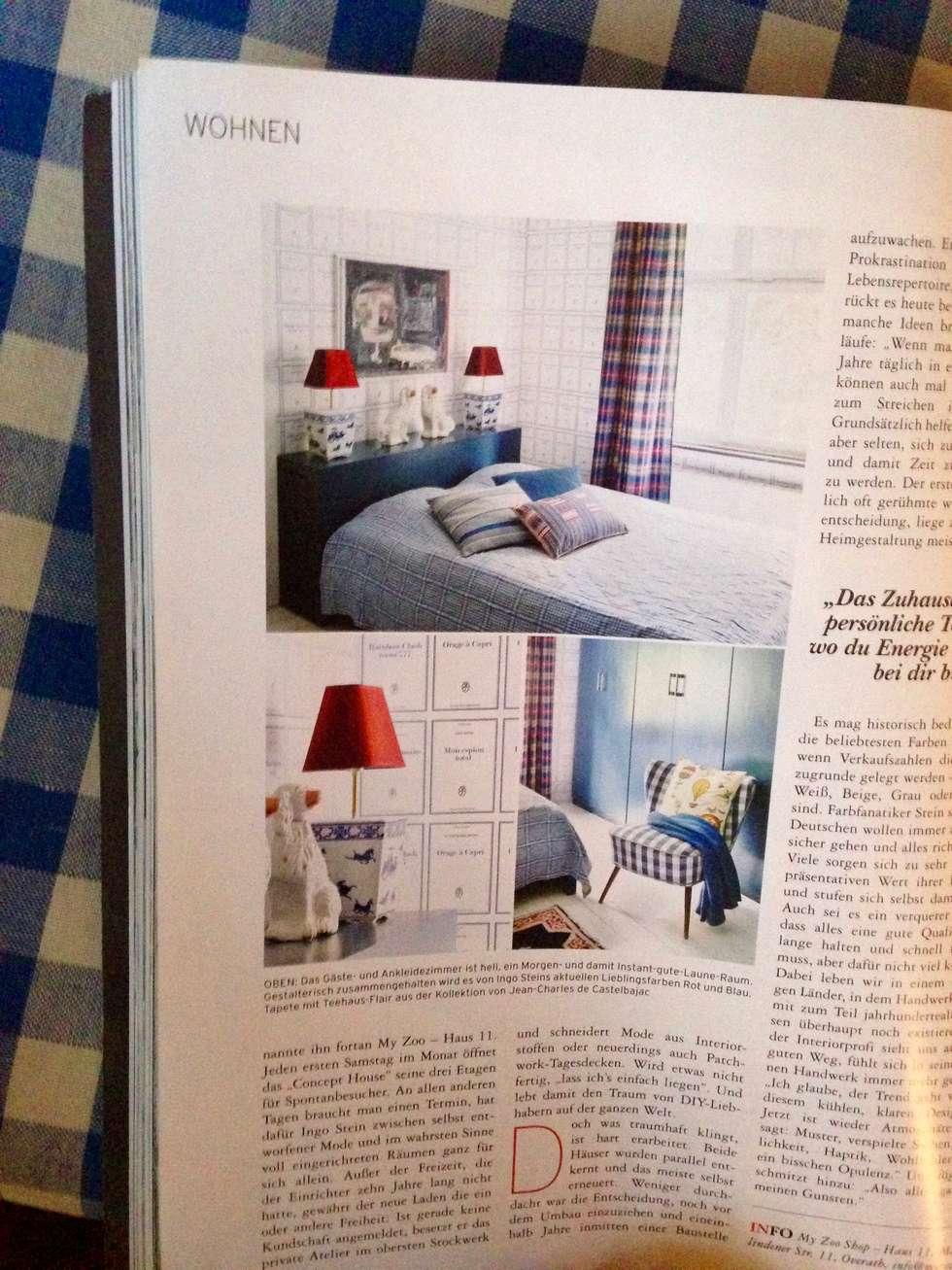 Presseveröffentlichung deco home magazin : ausgefallene wohnzimmer ...
