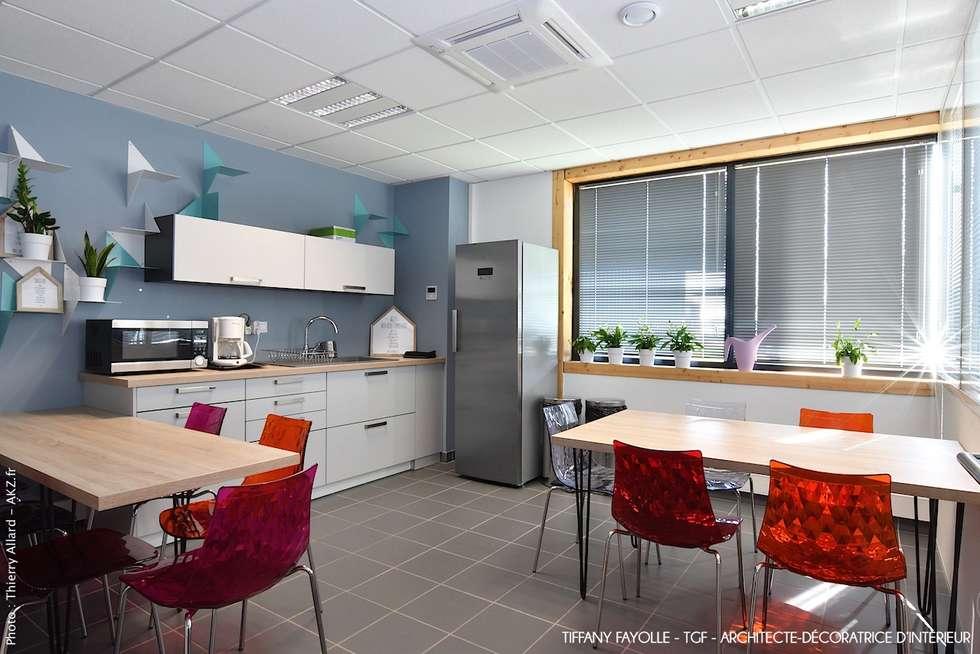Aménagement d un espace cuisine dans une société esprit start up