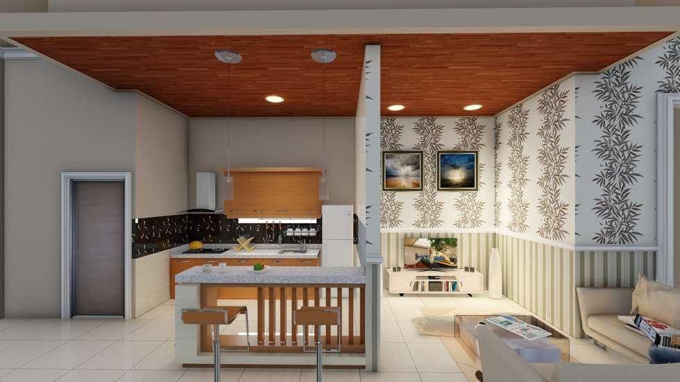 kitchen set:  Dapur by Ardha Design