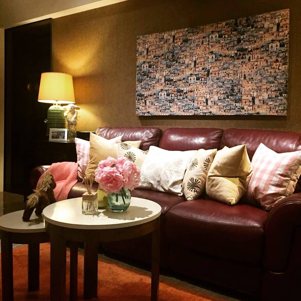 Project @ Holland Road Condo: modern Living room by ab1 Abode Pte Ltd