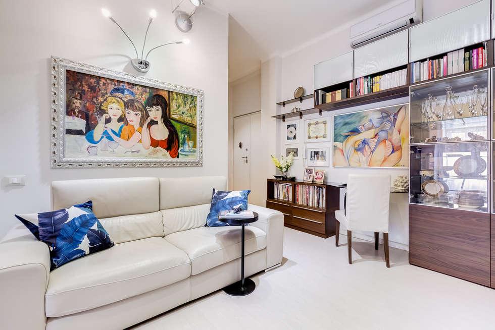 Living Open Space: Soggiorno in stile in stile Moderno di MakeUp your Home