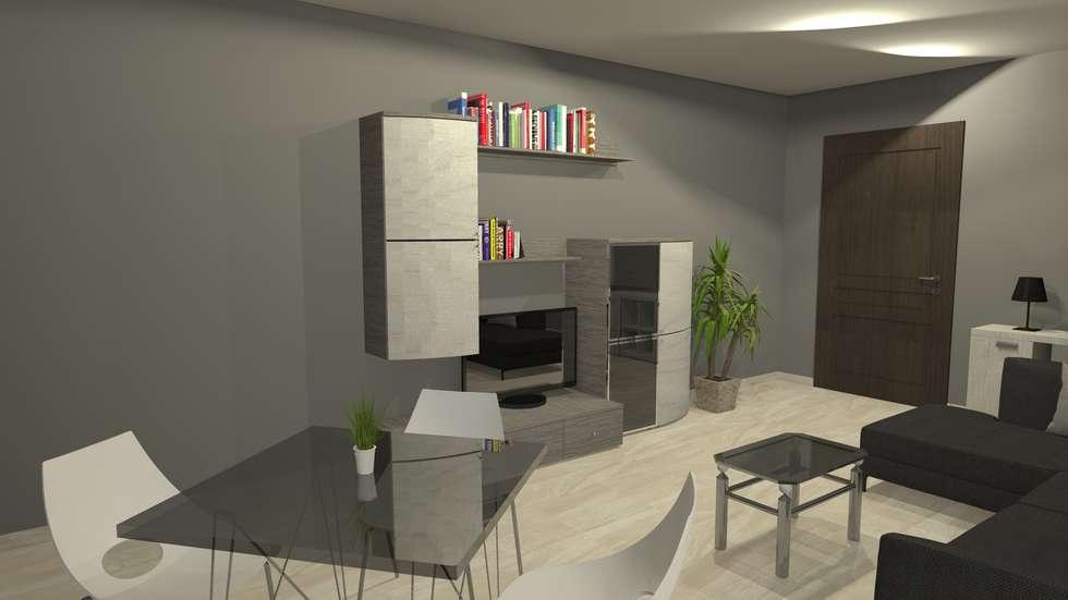 modern Dining room by Sergio Nisticò