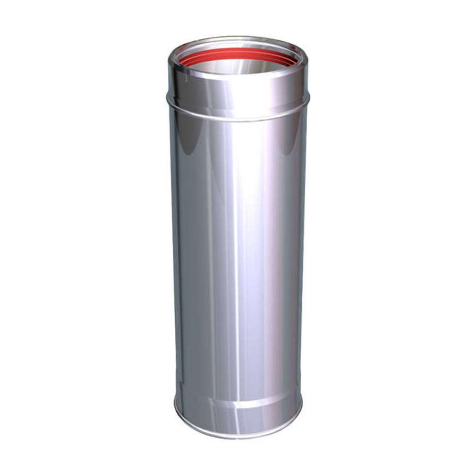 ELEMENTO LINEARE 1000 MM CANNE FUMARIE INOX: Case in stile in stile Classico di CANNE FUMARIE ONLINE