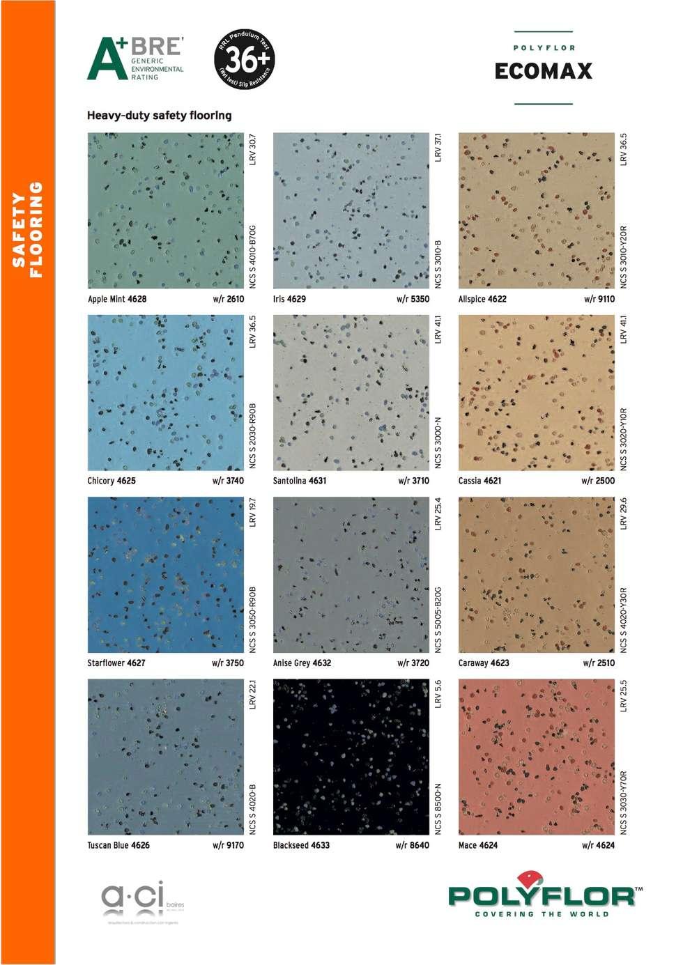 Vinílico ecomax antideslizante: Pasillos y recibidores de estilo  por ACI BAIRES