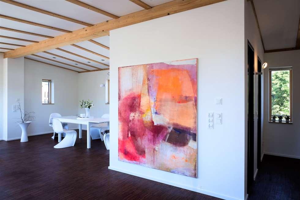 Penthouse u2013 platz für großformatige gemälde : minimalistische