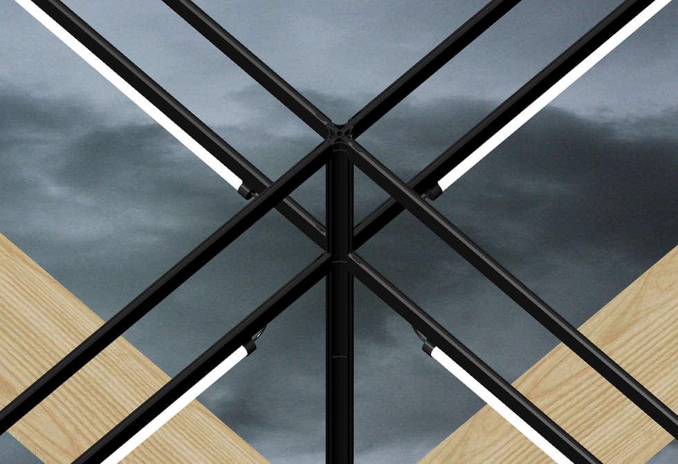 Assemblés: Terrasse de style  par Hadrien Fouin