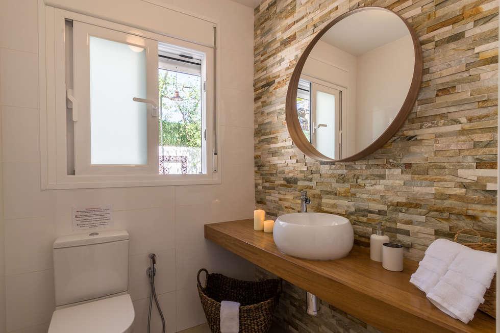 Cuarto de ba o ba os de estilo minimalista de home haus for Imagenes de cuartos de bano