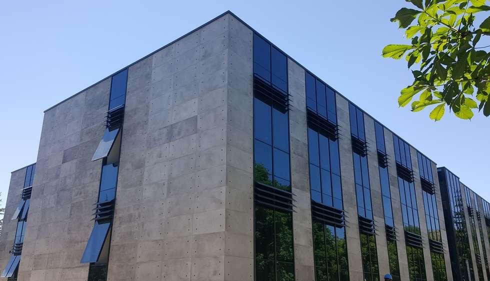 CRETOX Quattro Vintage Concrete Panel // Cement Based Natural Thin Lightweight Concrete Panel :  Commercial Spaces by NETEREN | Decorative Wall Panels