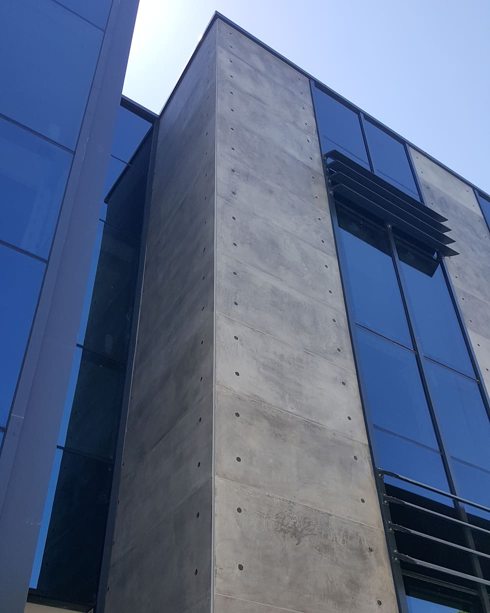 Outdoor Concrete Beton Panel Coverings :  Office buildings by NETEREN | Decorative Wall Panels