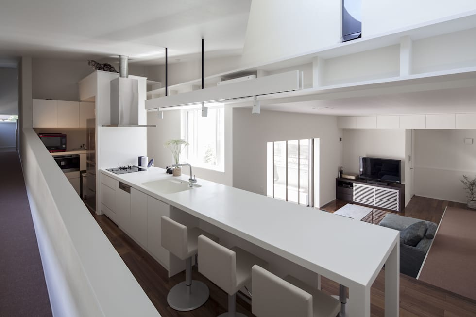 moderne Küche von 前田敦計画工房