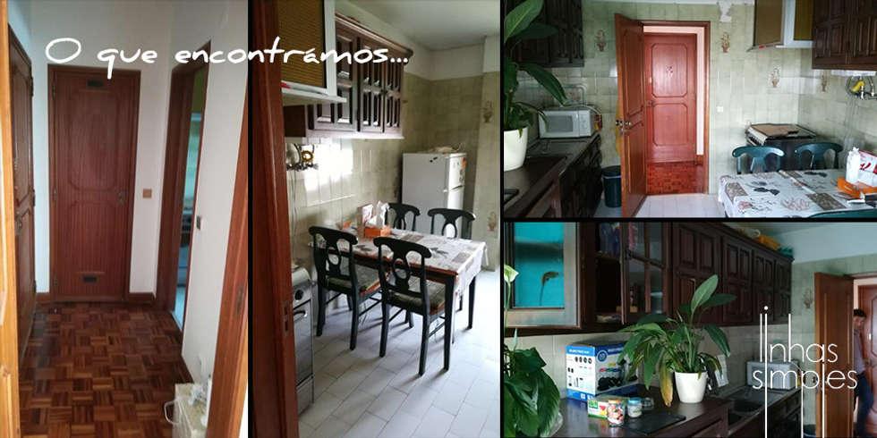 modern Living room by Linhas Simples