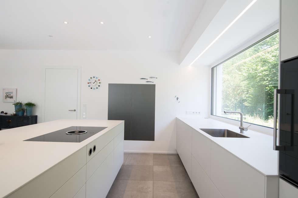 Bulthaup b3 kaolin alu grau moderne küche von küchen dross