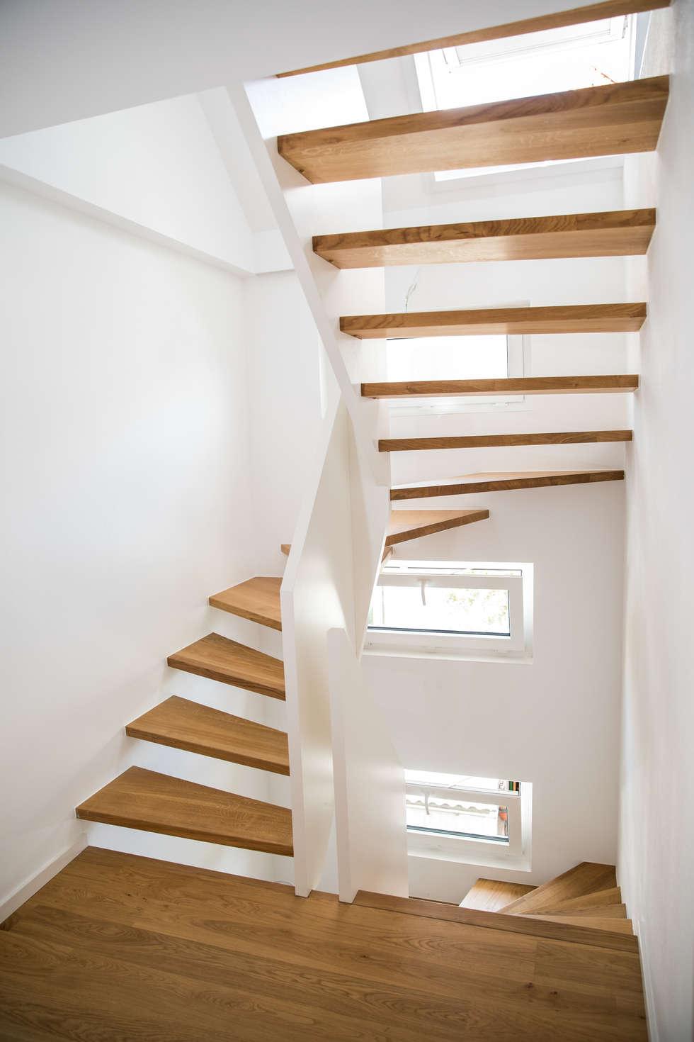 Halbgewendelte Treppe wohnideen interior design einrichtungsideen bilder homify