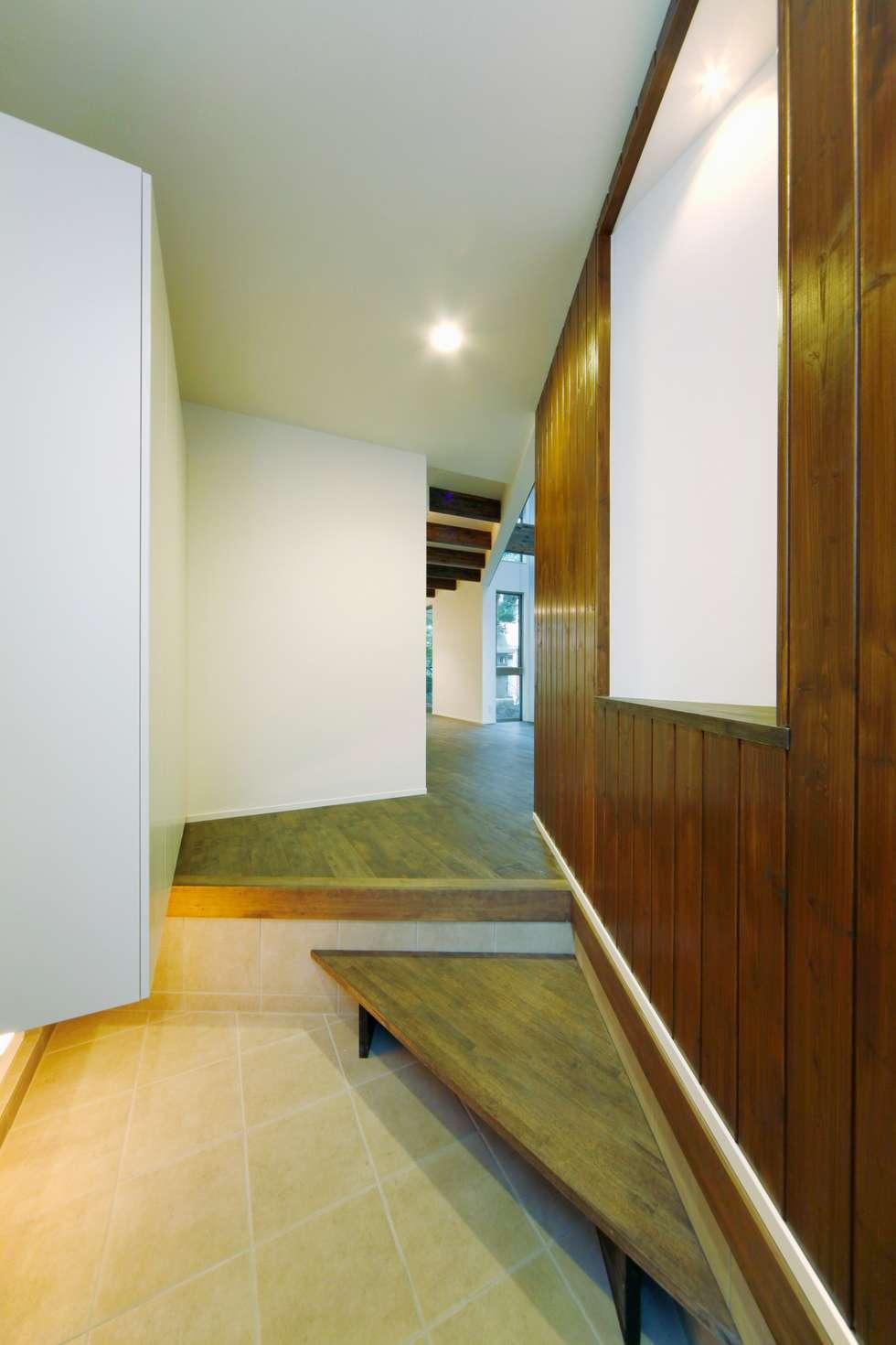 逆遠近法の家: 前田敦計画工房が手掛けたウォークインクローゼットです。