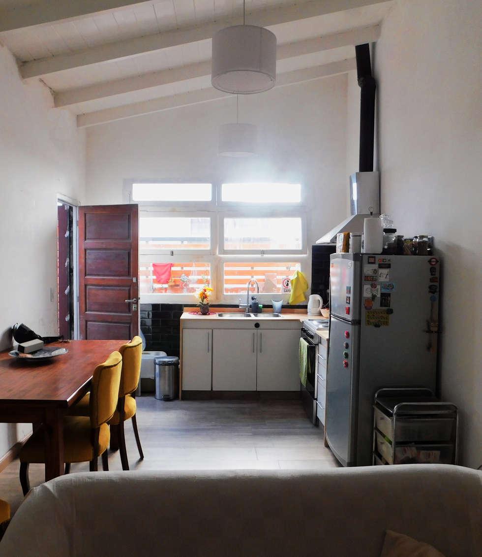 Reforma cocina-comedor.: comedores de estilo moderno por dsg ...