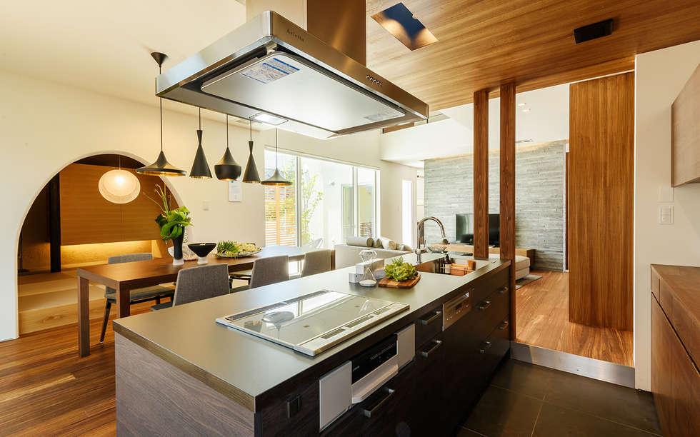 Fotos de decora o design de interiores e remodela es for Oriental kitchen design