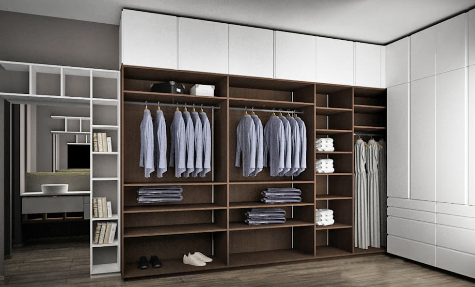 Fotos de decora o design de interiores e remodela es for Closet modernos armables