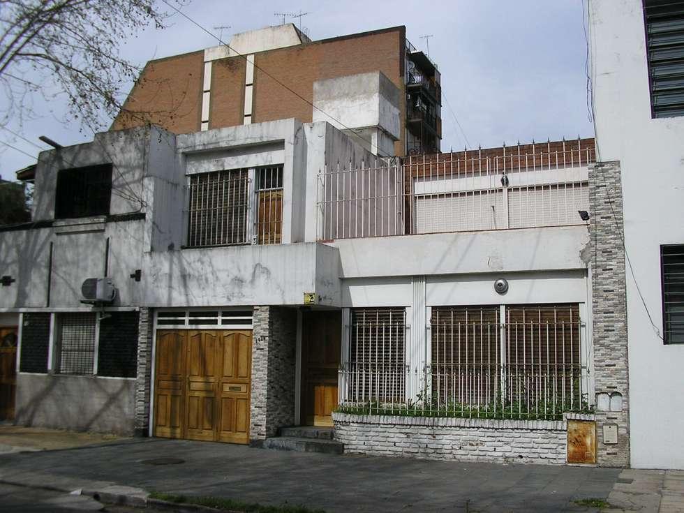 Fachada antes de la reforma.: Casas de estilo moderno por NG Estudio
