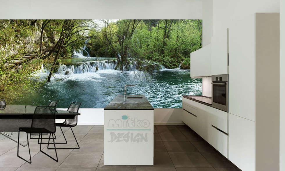 Wohnideen interior design einrichtungsideen bilder for Glasbilder xxl küche