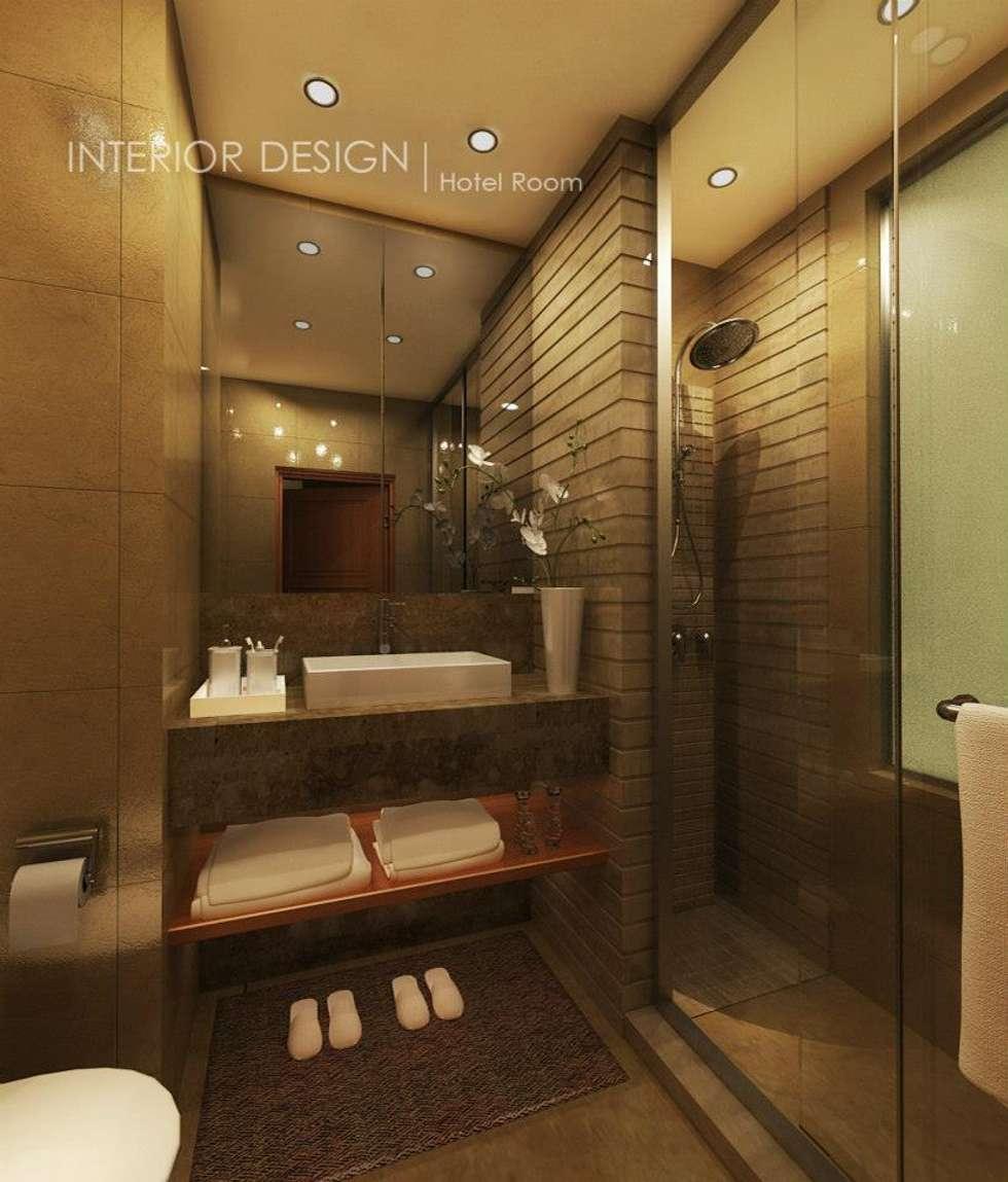 حمام تنفيذ  Axis Architects for architecture and interior design