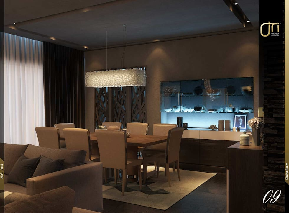 La Terra Residence: modern Dining room by Ori - Architects