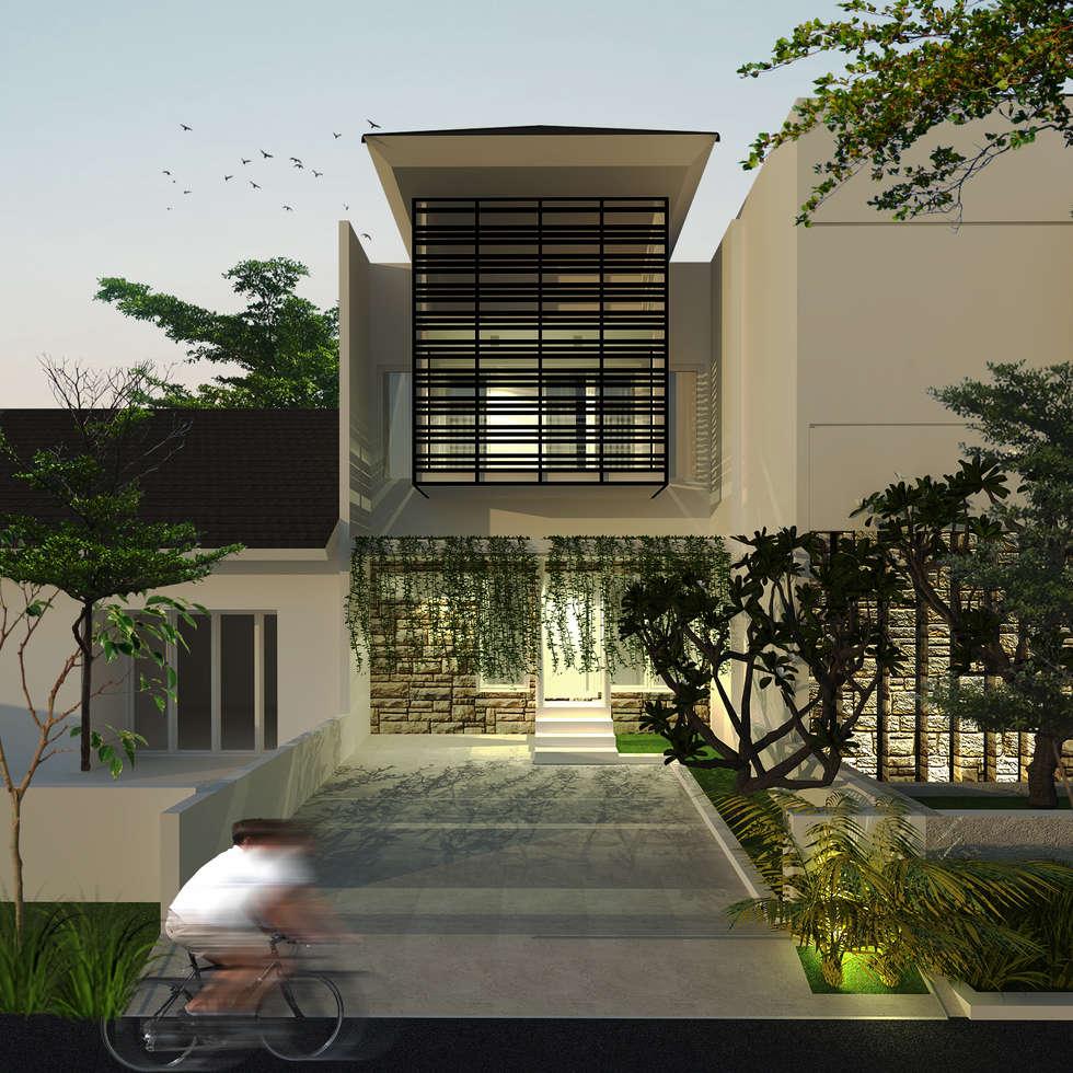 House 1:  Rumah keluarga besar by SEKALA Studio