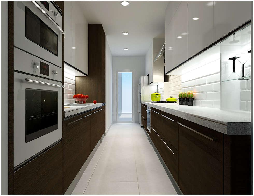 廚房 by Công ty TNHH TMDV Decor KT
