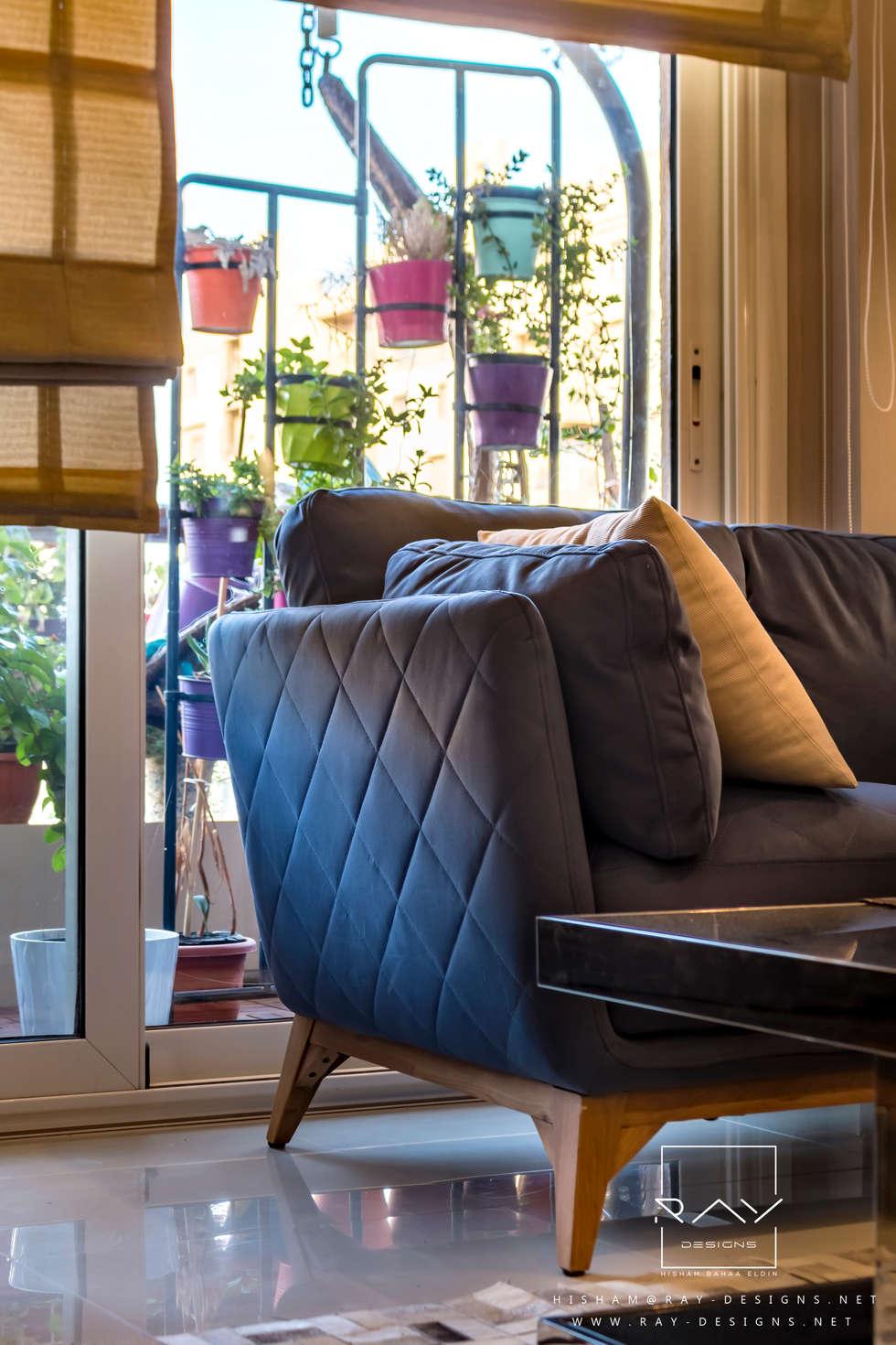 modern Living room by RayDesigns