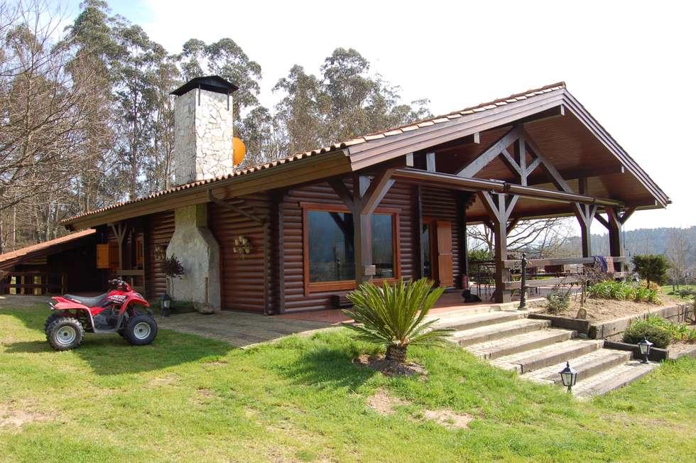 Fotos de decora o design de interiores e reformas homify - Casas de madera portugal ...