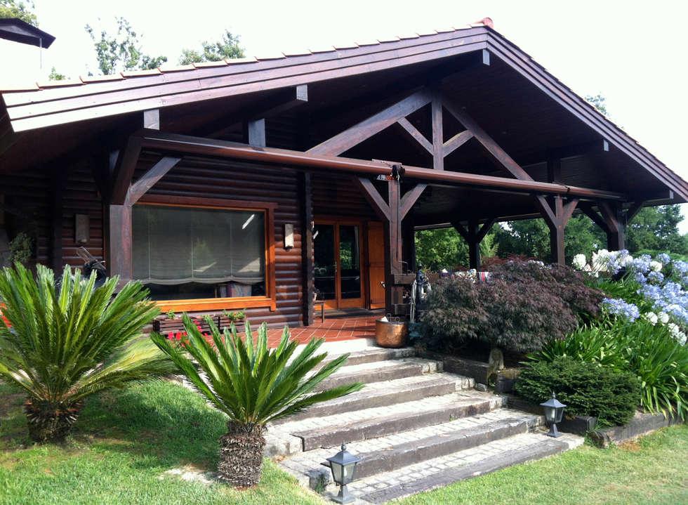 Im genes de decoraci n y dise o de interiores homify - Casas de madera pontevedra ...