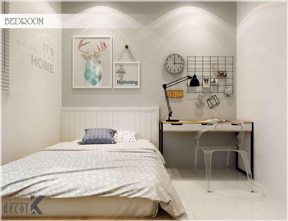Bed Room:  Phòng ngủ by Công ty TNHH TMDV Decor KT