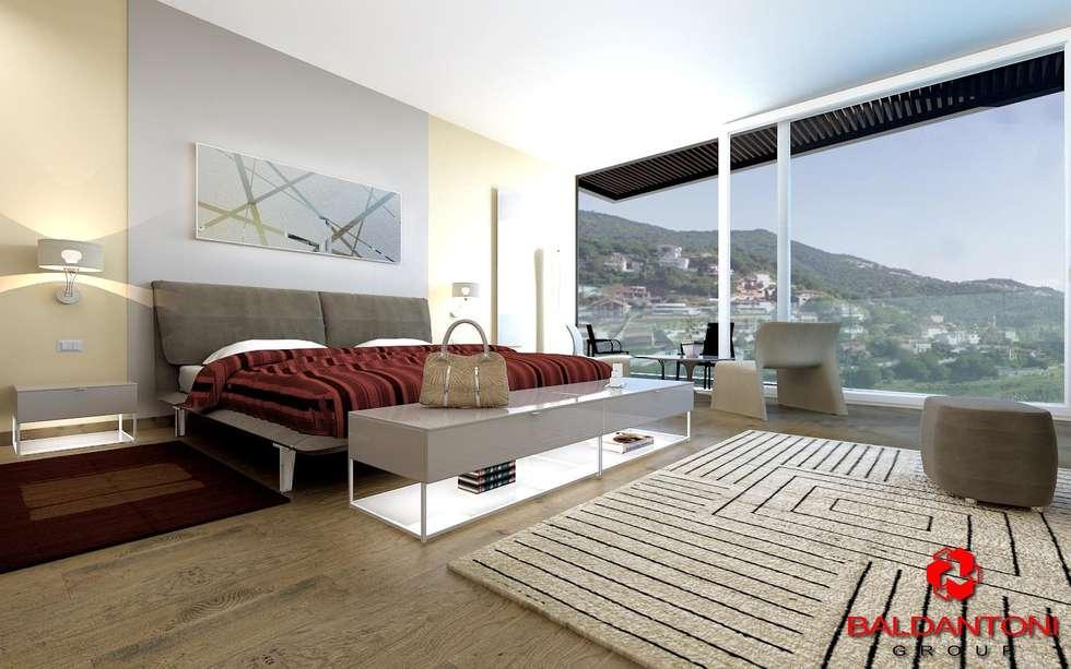 Camera da letto padronale: Camera da letto in stile in stile Moderno di Baldantoni Group
