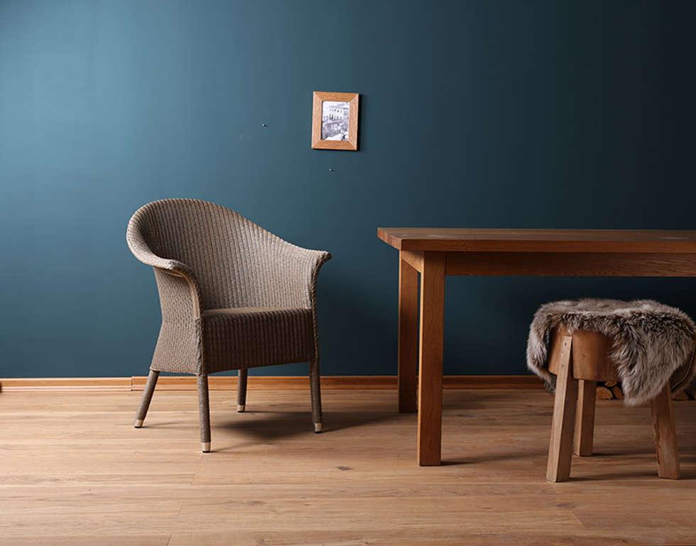 Lloyd Loom Stuhl Victor: Landhausstil Esszimmer Von Blue Wall Design GmbH