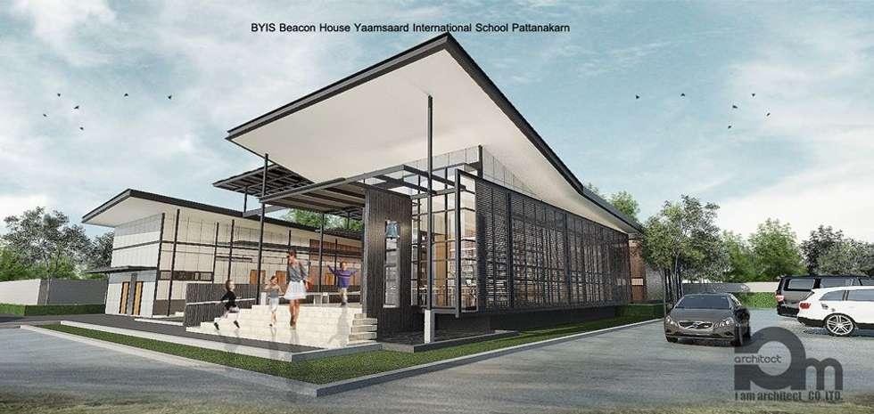โรงรียนนานาชาติ  บีคอนเฮาส์ แย้มสอาด  พัฒนาการ  กรุงเทพมหานคร:  โรงเรียน by i am architect CO.,Ltd.