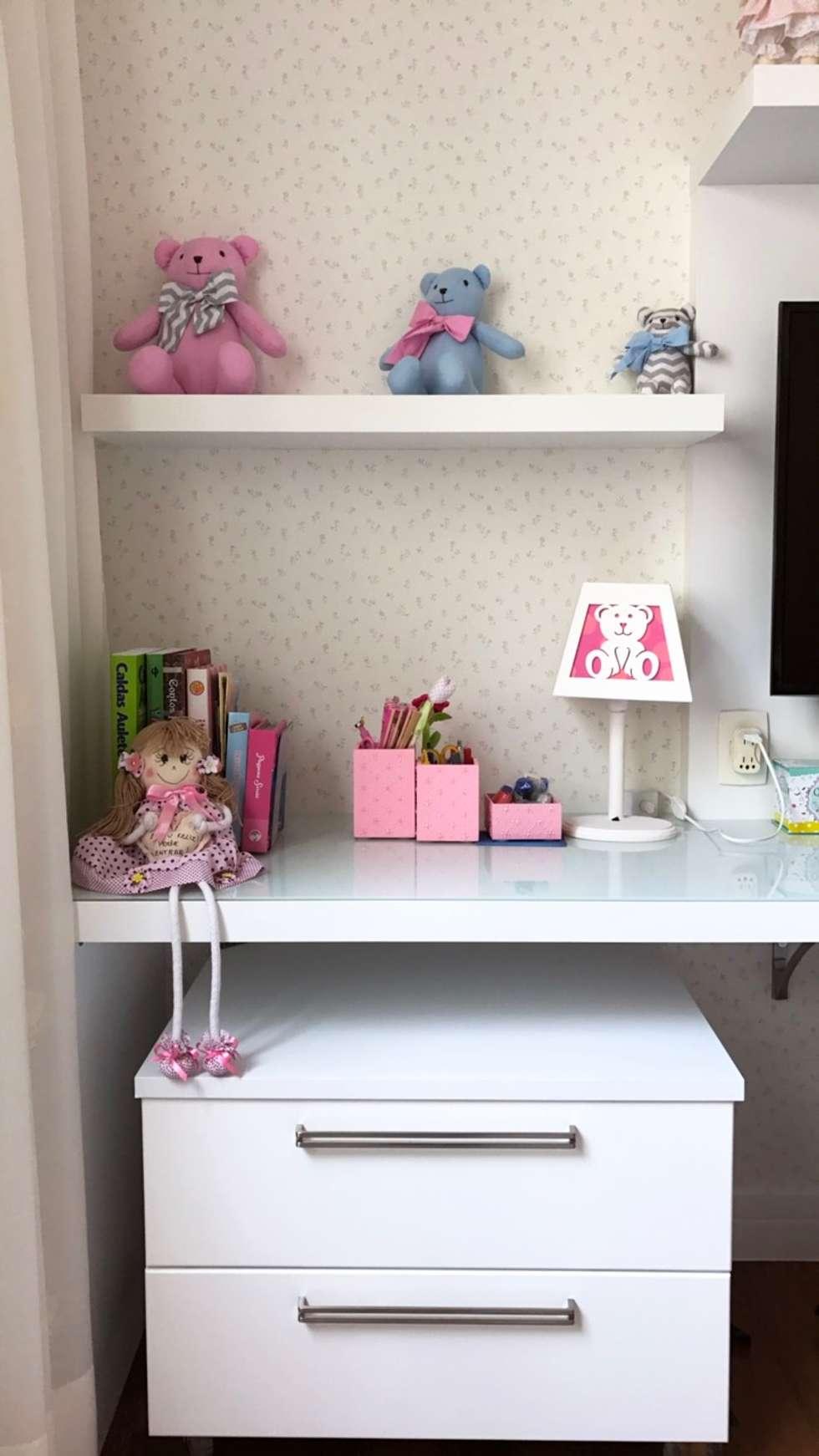 Fotos De Decora O Design De Interiores E Reformas Homify ~ Decoração Quarto Infantil Feminino