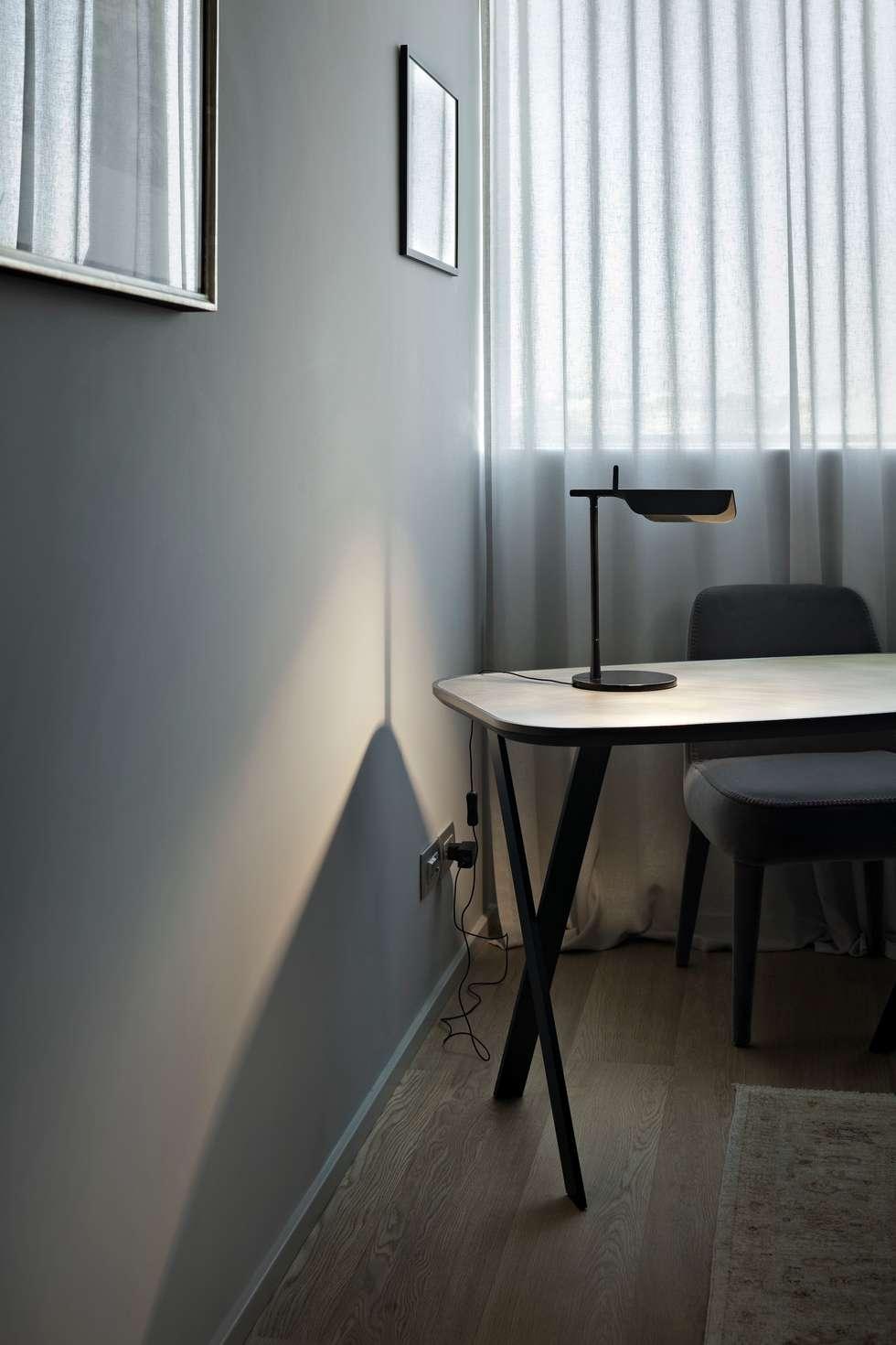 Apartment Citylife Milano: Studio in stile in stile Moderno di PAOLO FRELLO & PARTNERS