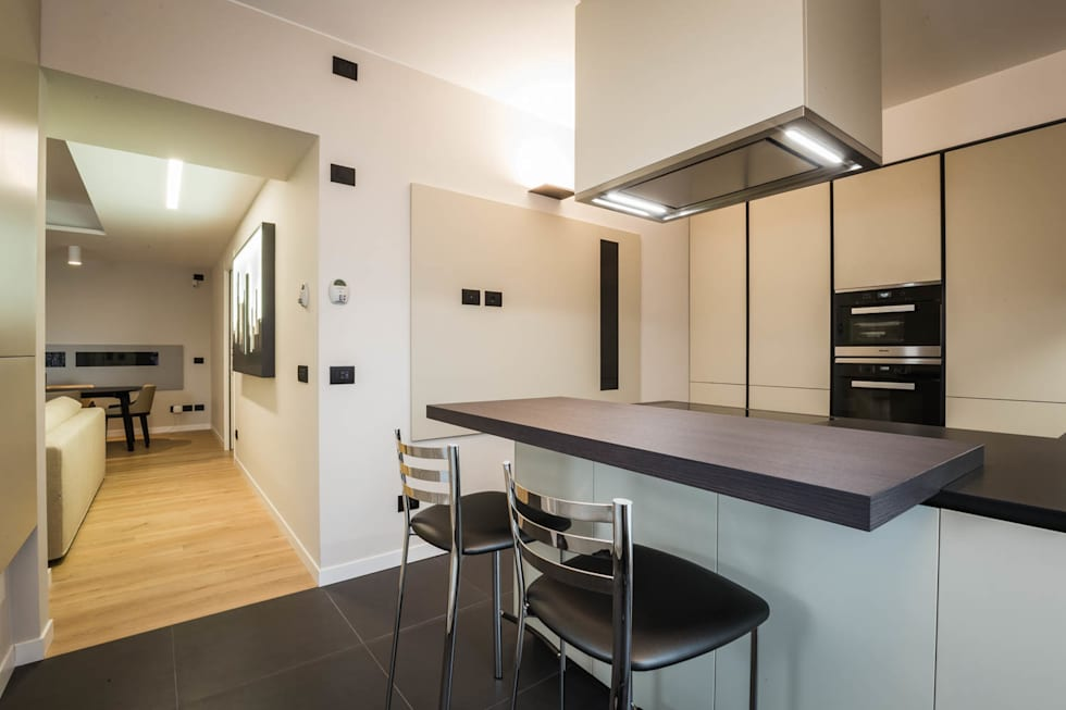 cucina moderna: Cucina in stile in stile Minimalista di ADIdesign*  studio