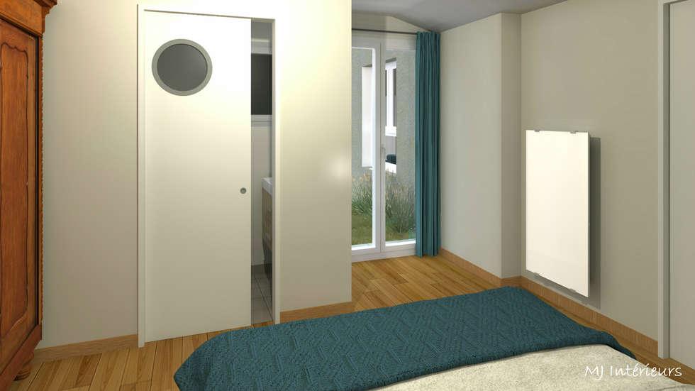 Version 2 – la chambre d\'amis et sa mini salle d\'eau: chambre de ...