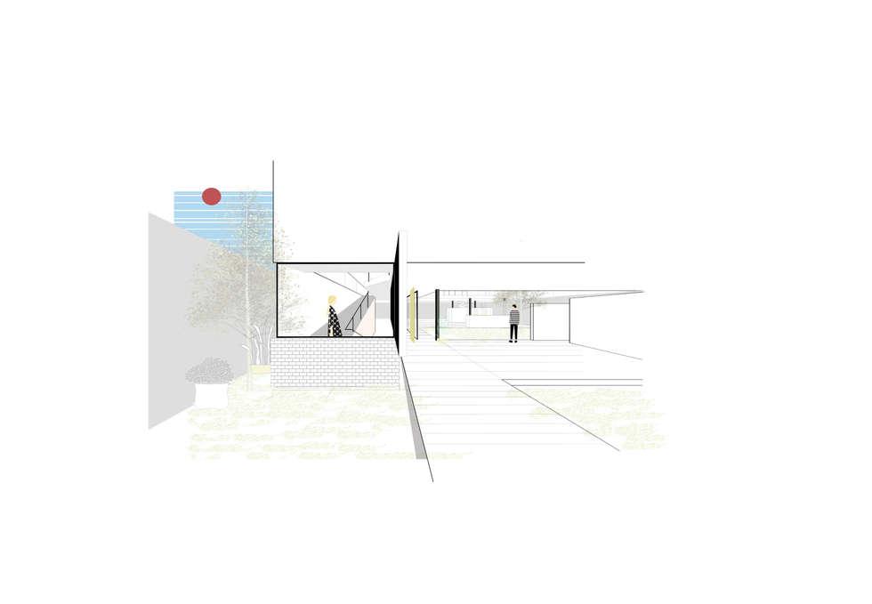 Casa IE: Casas unifamiliares de estilo  por FP Arquitectura