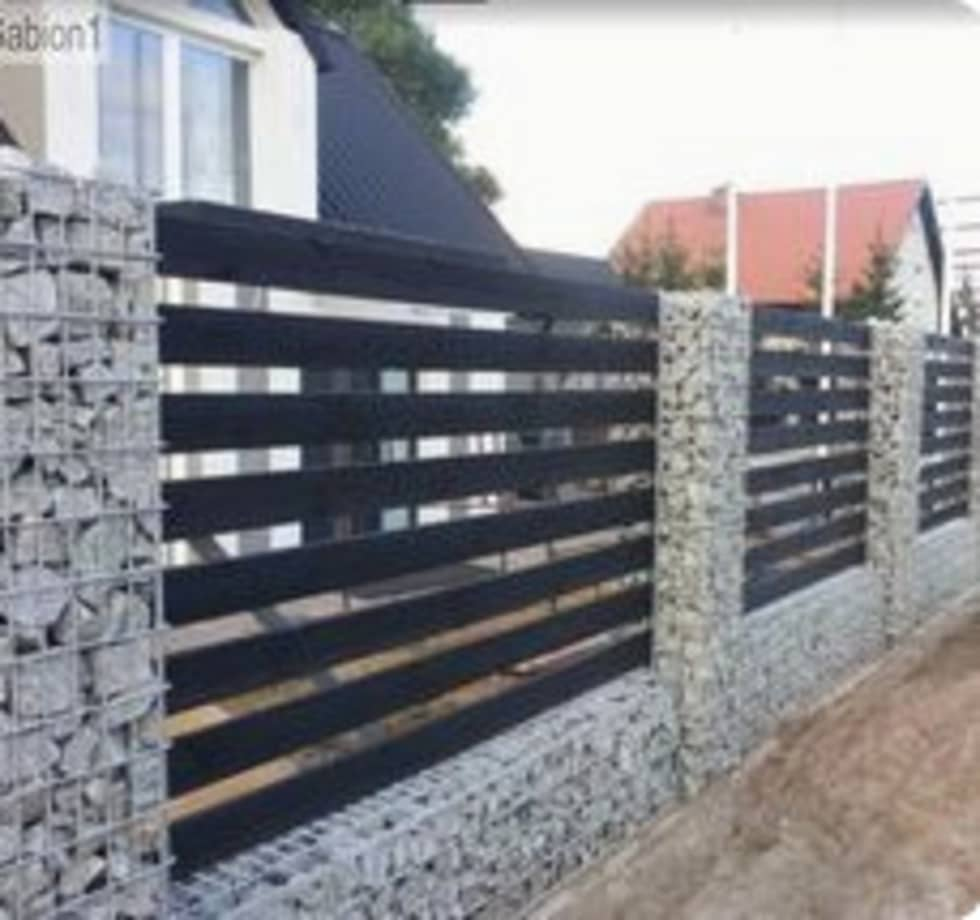 Boundary Walls: modern Houses by Nozipho Construction